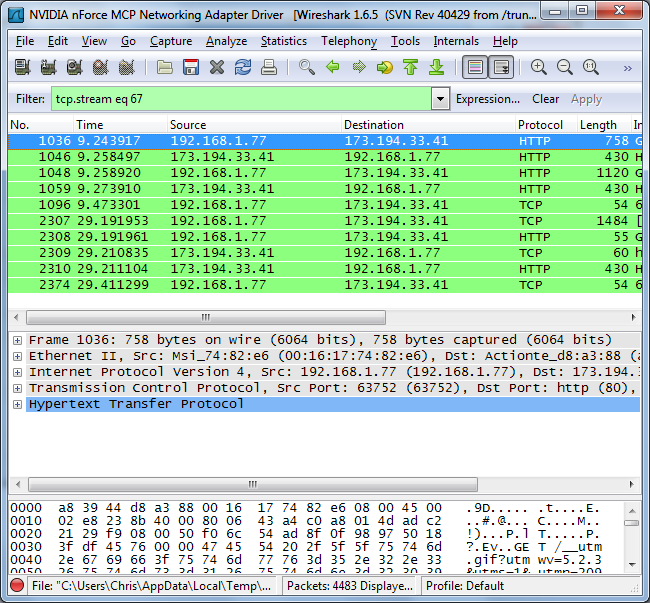 how to use wireshark to get wifi passwords