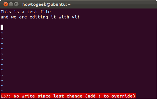 A Beginner's Guide to Editing Text Files With Vi