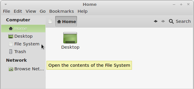 how to open a file in linux