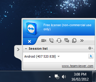 Access Desktops on the Road with TeamViewer for Android