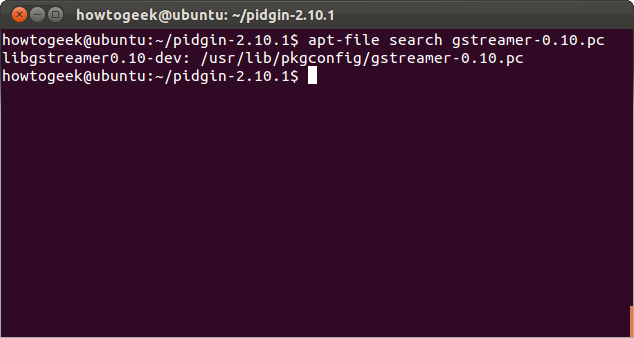 Install The Package With The Standard Apt Get Install Command: