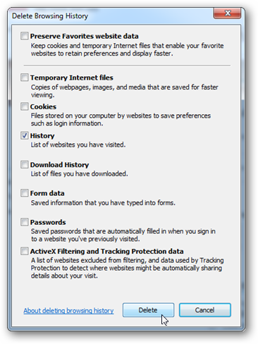 image76 - پاک کردن کوکی و History در گوگل کروم ، فایرفاکس و اینترنت اکسپلوررIE9 - متا