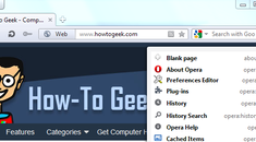 Find Hidden Features on Opera's Internal Opera: Pages