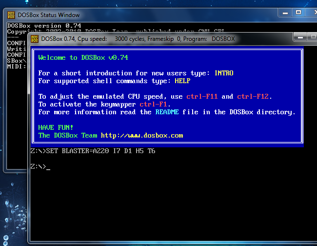 ms dos box free download for windows xp