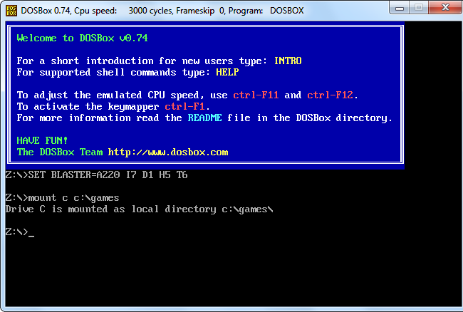How To Use DOSBox To Run DOS Games and Old Apps