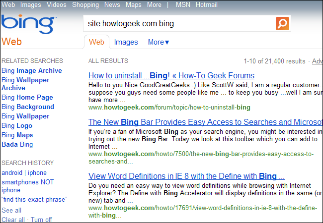 How To Use Bings Advanced Search Operators 8 Tips For Better Searches