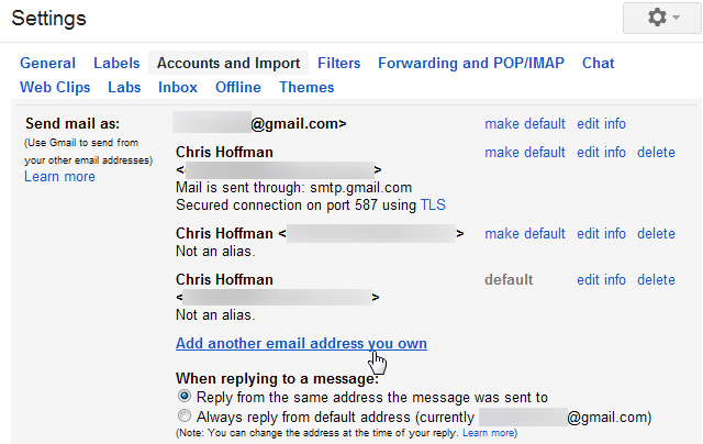 how to forward gmail to another gmail