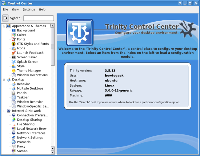 How To Install Trinity on Ubuntu & Relive KDE 3