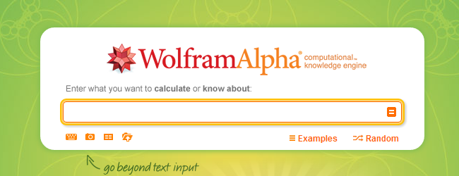 Image result for WOLFRAMALPHA search