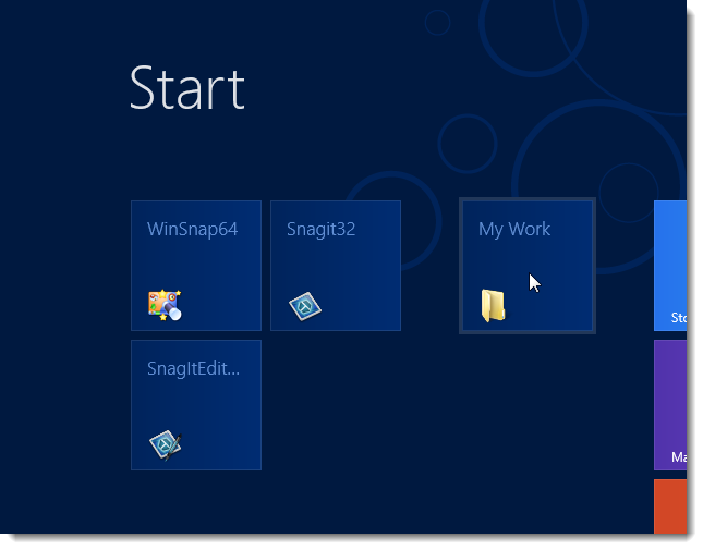 how to add apps to windows 8 start screen