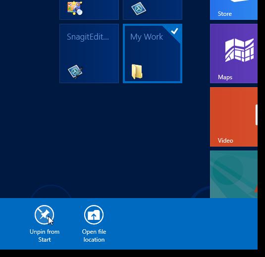 09_unpinning_folder_from_start_screen