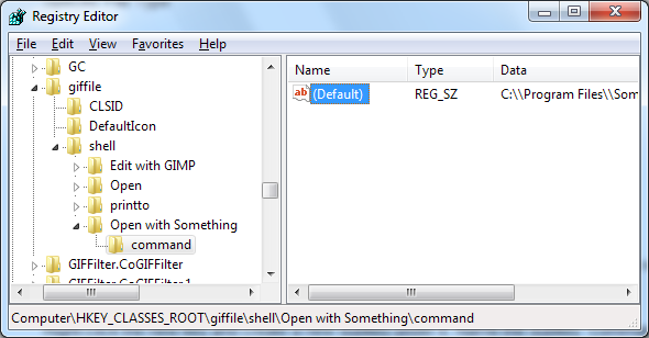 how to add gif command with poni