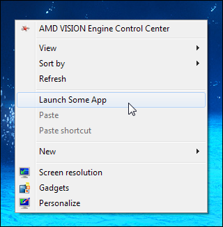 How to Add Any Application Shortcut to Windows Explorer's Context Menu