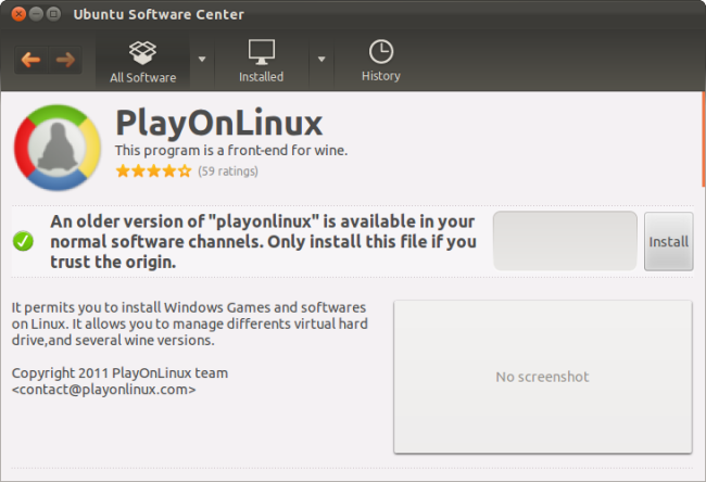 Easily Install Windows Games & Software on Linux with PlayOnLinux