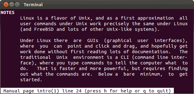 how to get help with a command from the linux terminal 8 tricks for rh howtogeek com linux commands manual pdf free linux commands manual pdf free