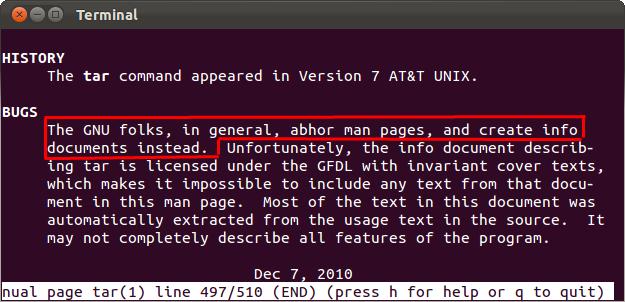 man vs info