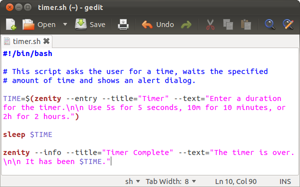 how to make simple graphical shell scripts with zenity on linux