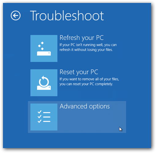 how to get into safe mode windows 8