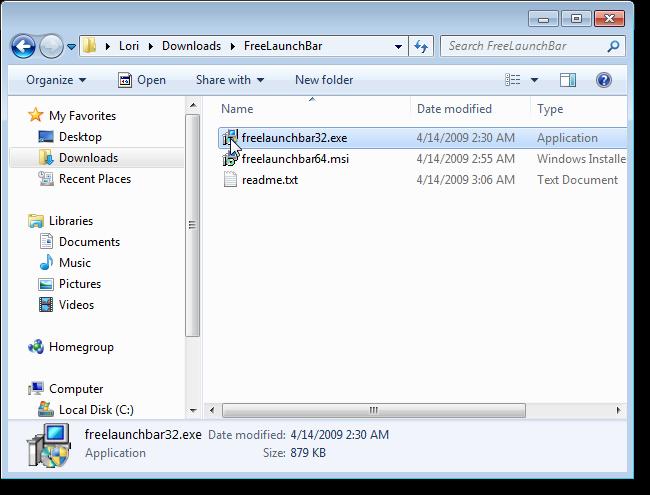 01_running_freelaunchbar_install_file