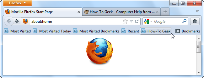 How to Create Custom Smart Bookmarks Folders in Firefox