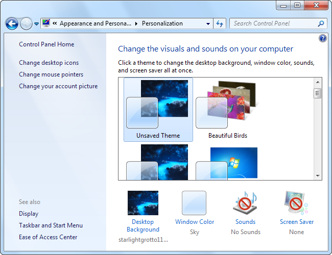 how to change windows 7 logon screen name