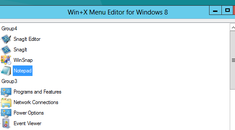 How to Edit the Win+X Menu in Windows 8 and 10