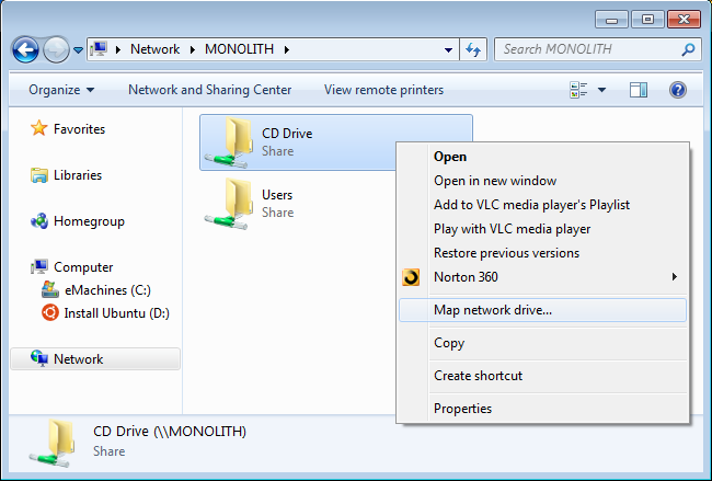 How to Share CD & DVD Drives Over the Network on Windows - Tips