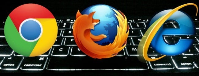 Web Browser keyboard shortcuts