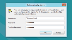 How to Make Your Windows 10, 8, or 7 PC Log In Automatically