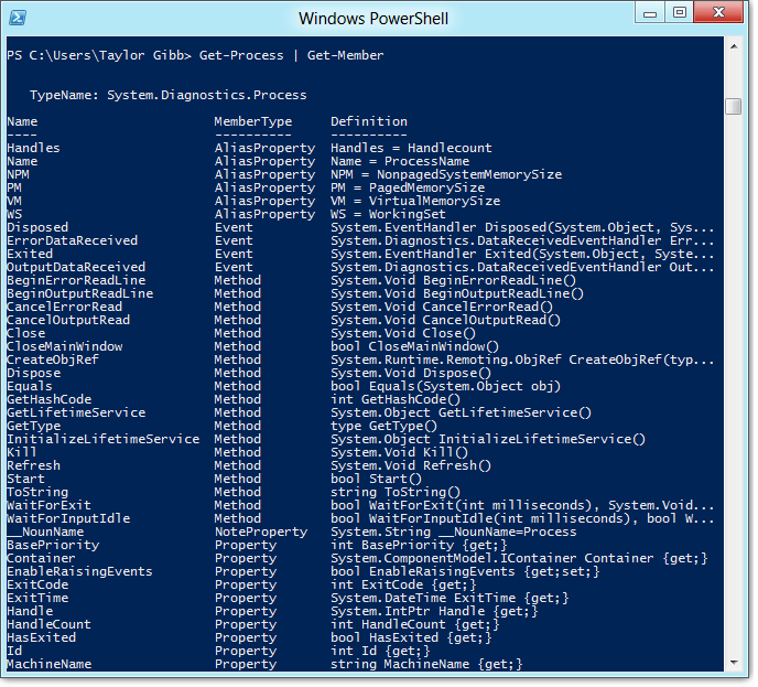 Waitforexit process powershell