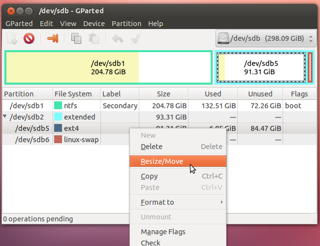 How to Resize Your Ubuntu Partitions