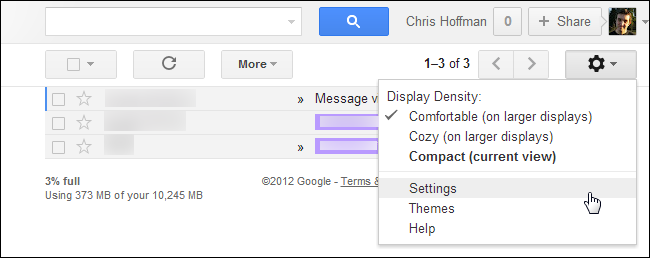 how to set a shortcut for gmail