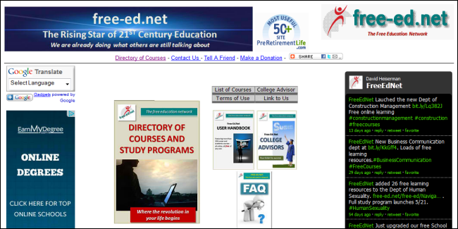 for adults online Free learning websites