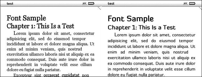 Hack Your Kindle for Easy Font Customization