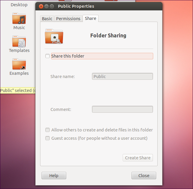 Use Ubuntu's Public Folder to Easily Share Files Between Computers