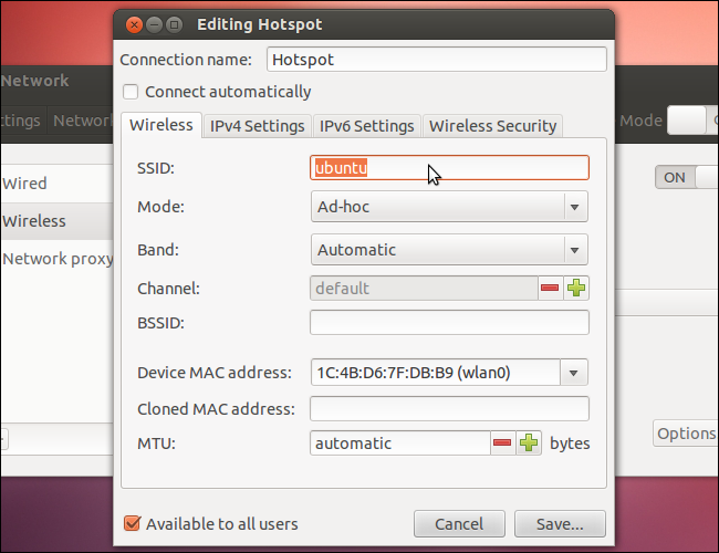 how to connect wifi into ubuntu