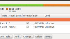 How to Create a Separate Home Partition After Installing Ubuntu