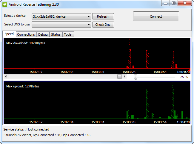 download android usb tunnel for windows 7