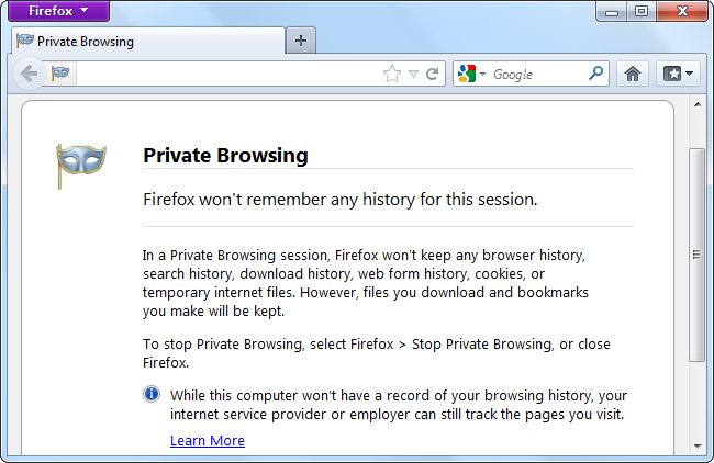 How Private Browsing Works And Why It Doesn T Offer Complete Privacy