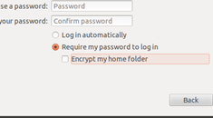 How to Disable Home Folder Encryption After Installing Ubuntu