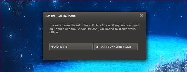 steam offline header