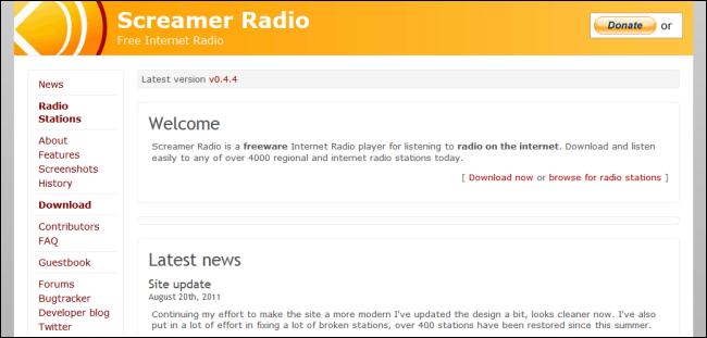 The Best Websites for Listening to Internet Radio and