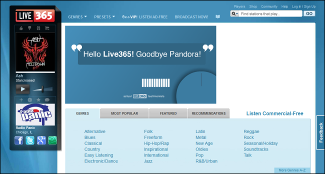 The Best Websites for Listening to Internet Radio and Downloading