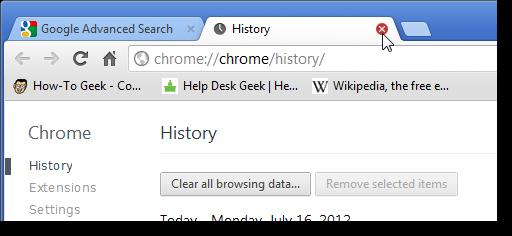 how to make new tab blank chrome