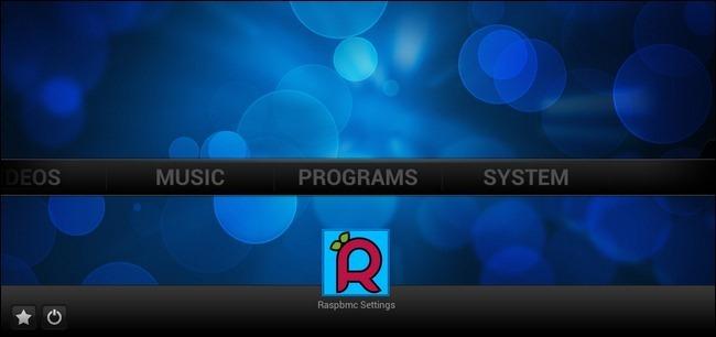 O Raspbmc, a distro que faz com que o XBMC abra na sua TV.