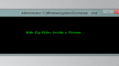 How to Hide Zip Files Inside a Picture Without any Extra Software in Windows