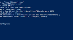 How to Send Email From the Command Line in Windows (Without Extra Software)