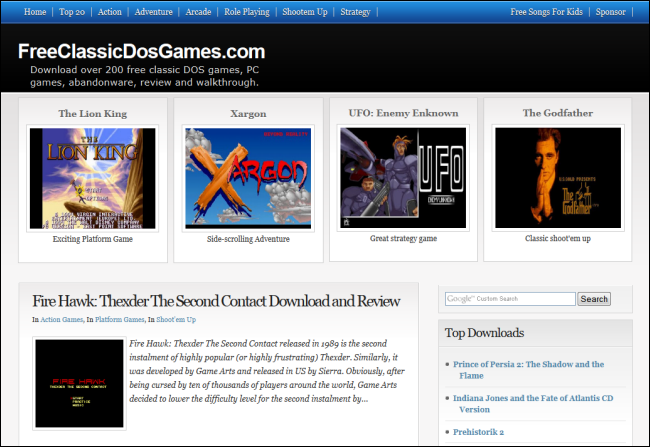 The Best Websites for Downloading and Playing Classic Games
