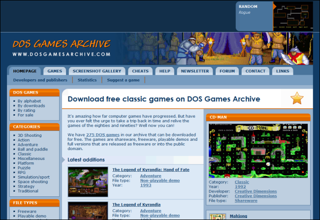 10_dos_games_archive