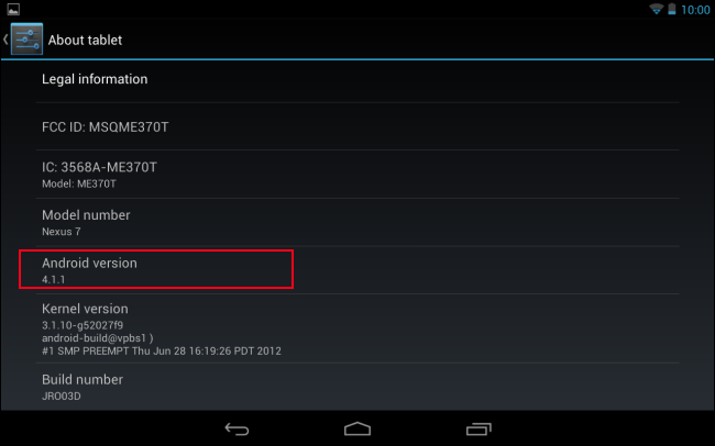 android about tablet